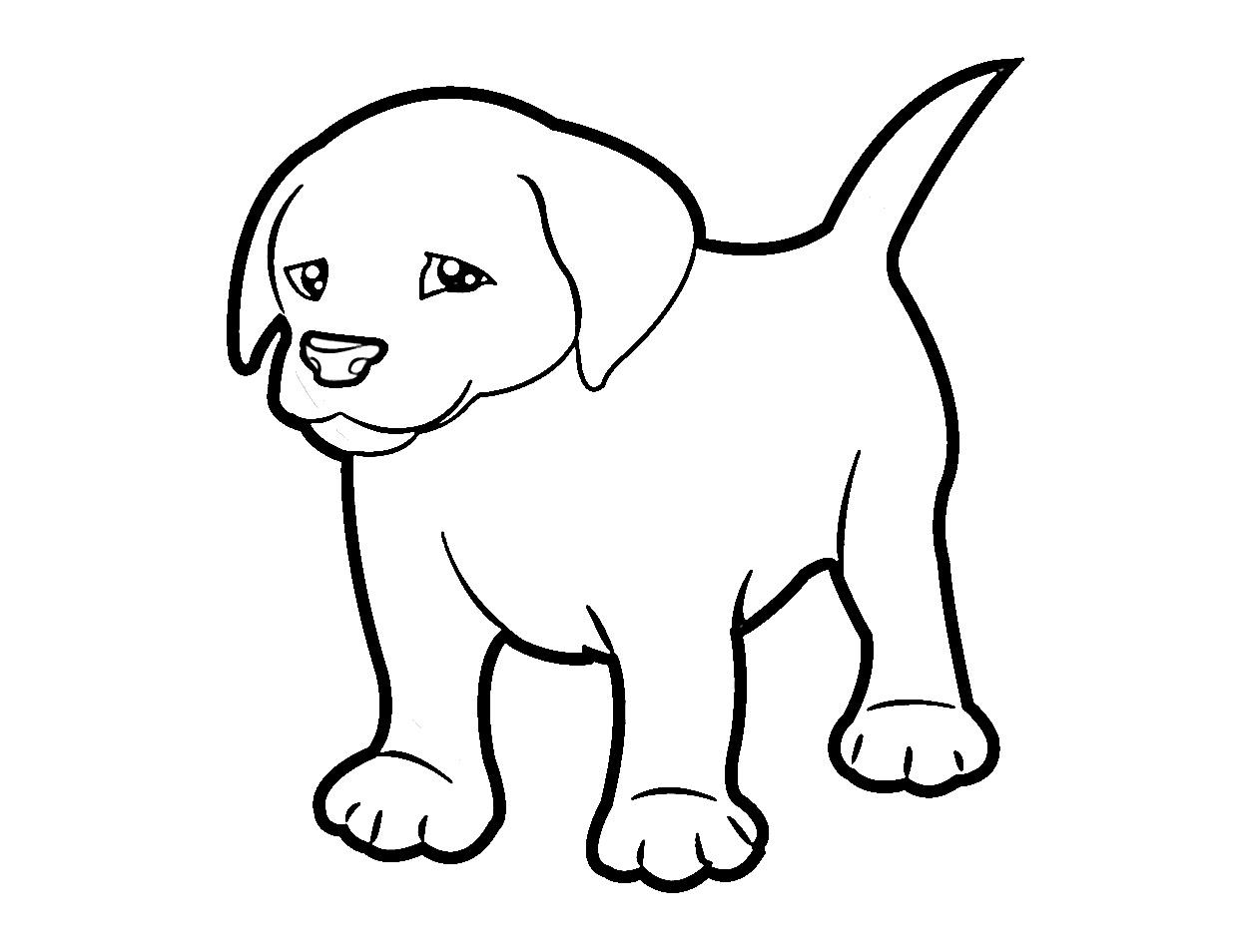 Hunde Ausmalbilder – Lieblingstier Malvorlagen → DieMalen.com